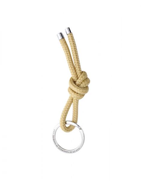 Schlüsselanhänger Knoten - BEIGE