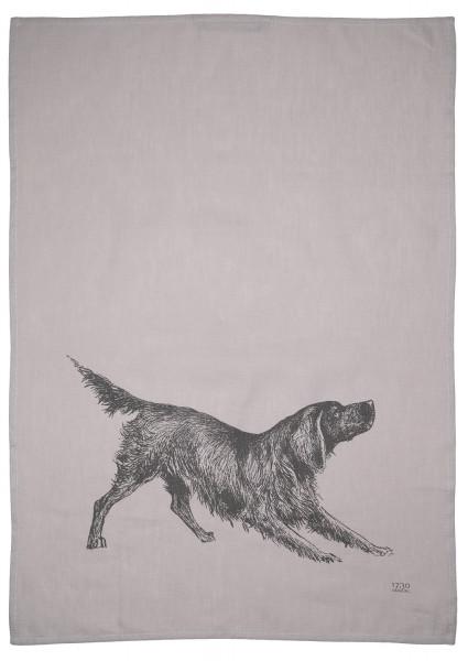 Geschirrtuch Halbleinen, DOG