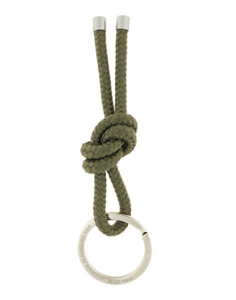 Schlüsselanhänger Knoten - OLIV