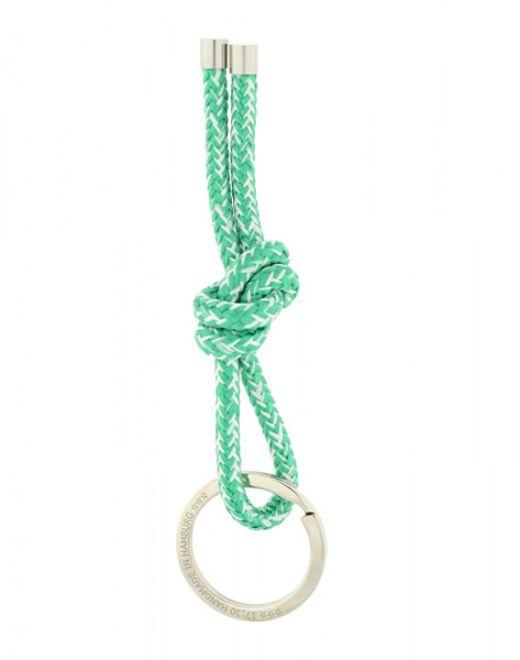 Schlüsselanhänger Knoten - GRÜN MELIERT (Sonderfarbe)