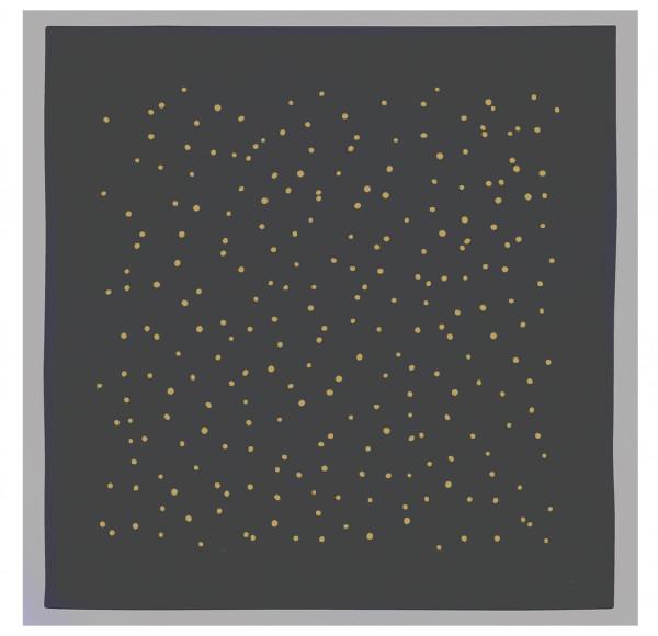 Servietten-Set (2 Stk.) grau, PUNKTE, gold100% Baumwolle