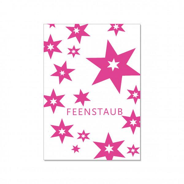 Postkarte hoch, FEENSTAUB