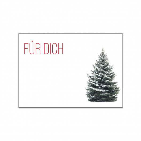 Postkarte quer, FÜR DICH