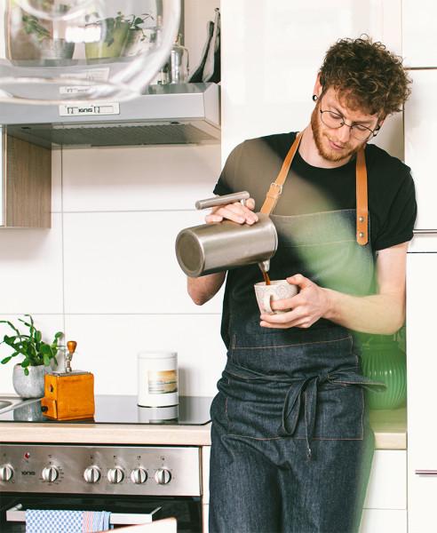 Küchenschürze DENIM100% Bio-Baumwolle