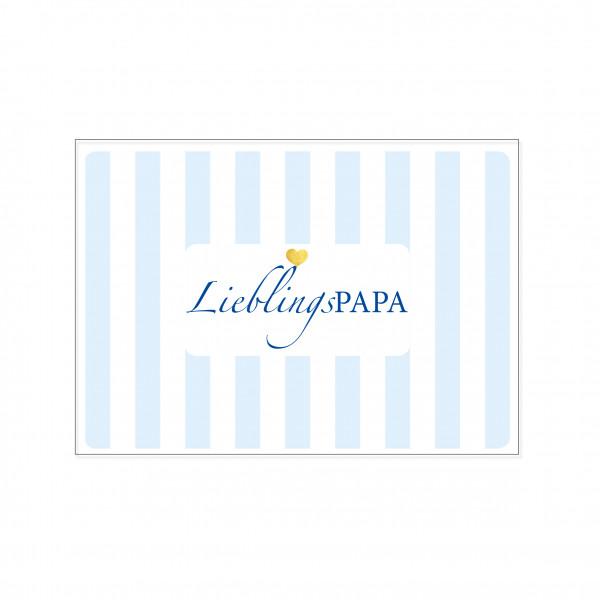 Postkarte quer, LieblingsPAPA