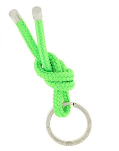 Schlüsselanhänger Knoten - HELLGRÜN