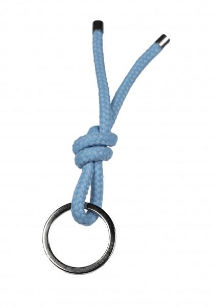 Schlüsselanhänger Knoten - HELLBLAU