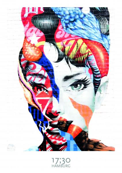 Poster A3 (29,7 x 42cm), AUDREY HEPBURN