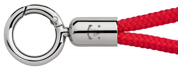 Schlüsselband Skipper (Ø 6MM) S, Tampen ROT