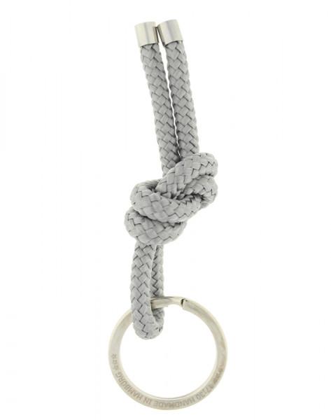 Schlüsselanhänger Knoten - GRAU