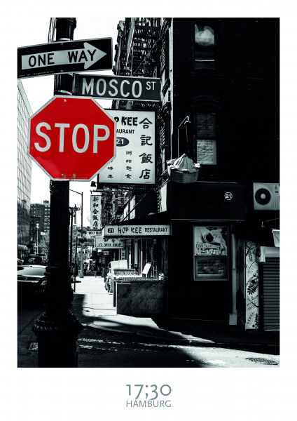"""Poster A3 (29,7 x 42cm), NEW YORK """"STOP"""" MOSCO ST"""
